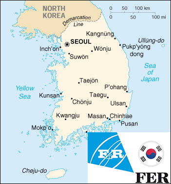 Shipments South Korea